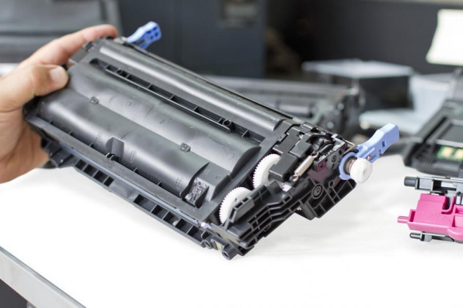 Как начать заливку чернил в принтер